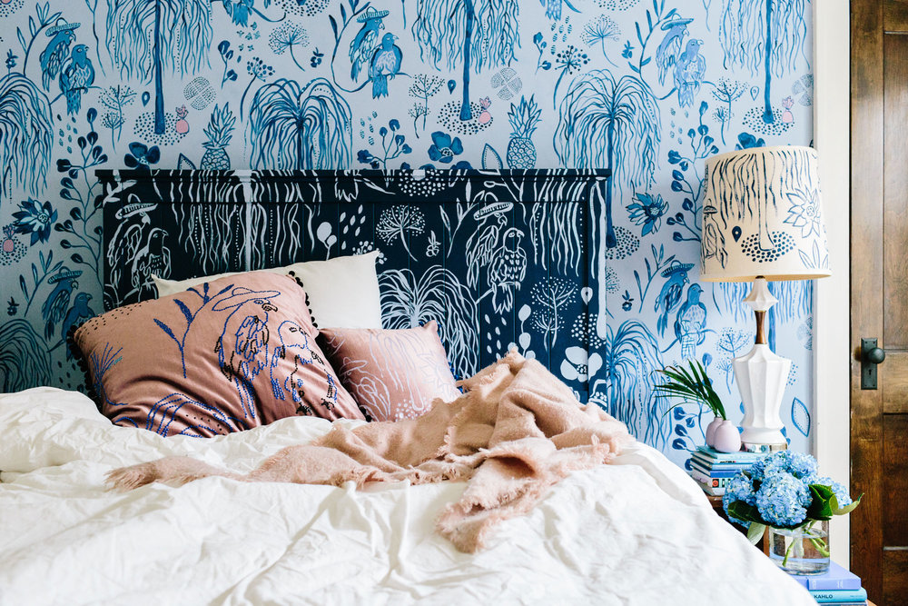 Whimsical Blue wall decoration