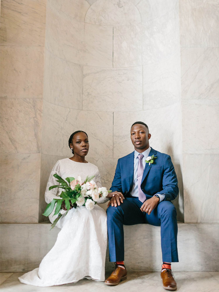 Our Intimate and Modern Washington DC Wedding