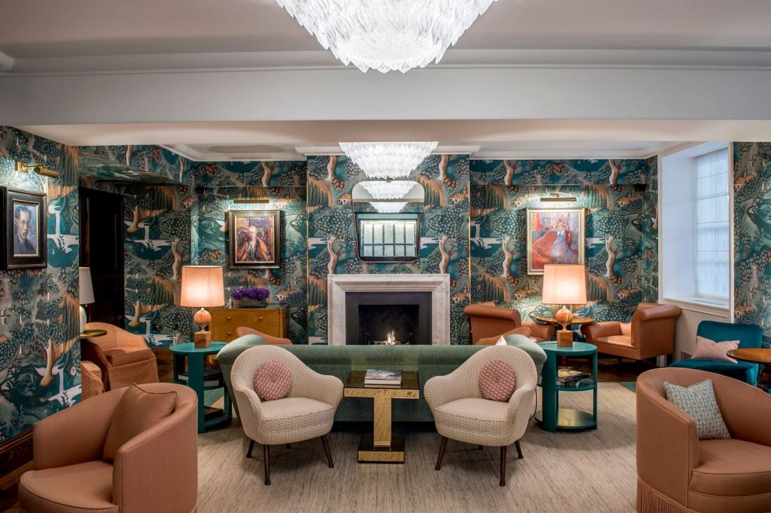 Modern Art Deco Interior At The Bloomsbury Hotel The Design Peeper