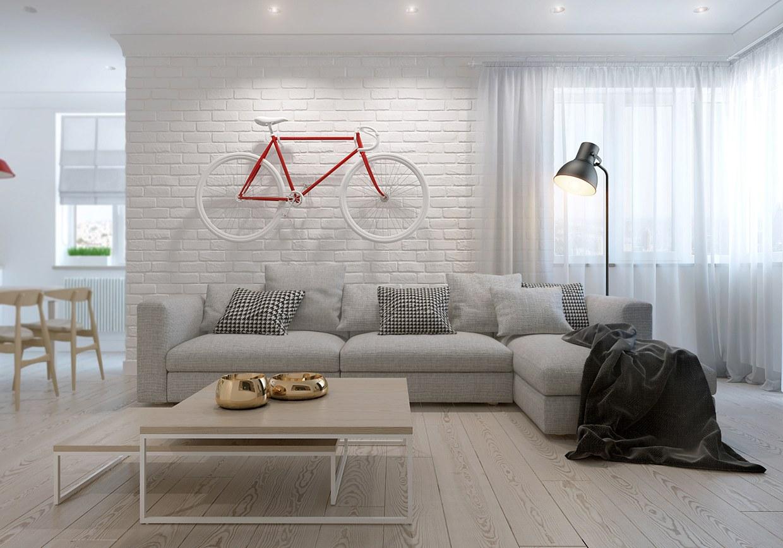 Hello Scandinavia Apartment by Kaschuk Kostyantyn | Design on House Interior Ideas  id=68999