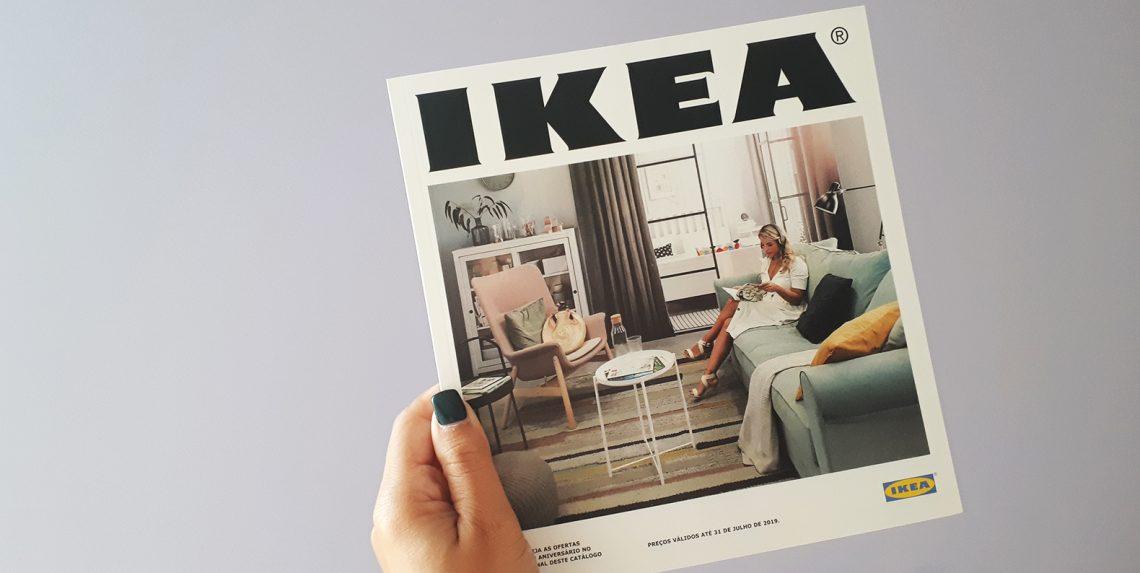 Receba O Catálogo Ikea 2019 Com A Sua Foto Design Por Acaso