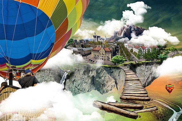 Balloon wallpaper Brazilian Designer Inspiration