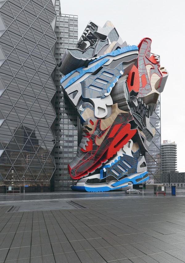 Sneaker Tectonics by British Designers