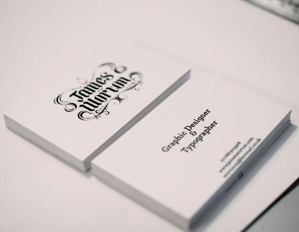 Hand drawn type by British Designers