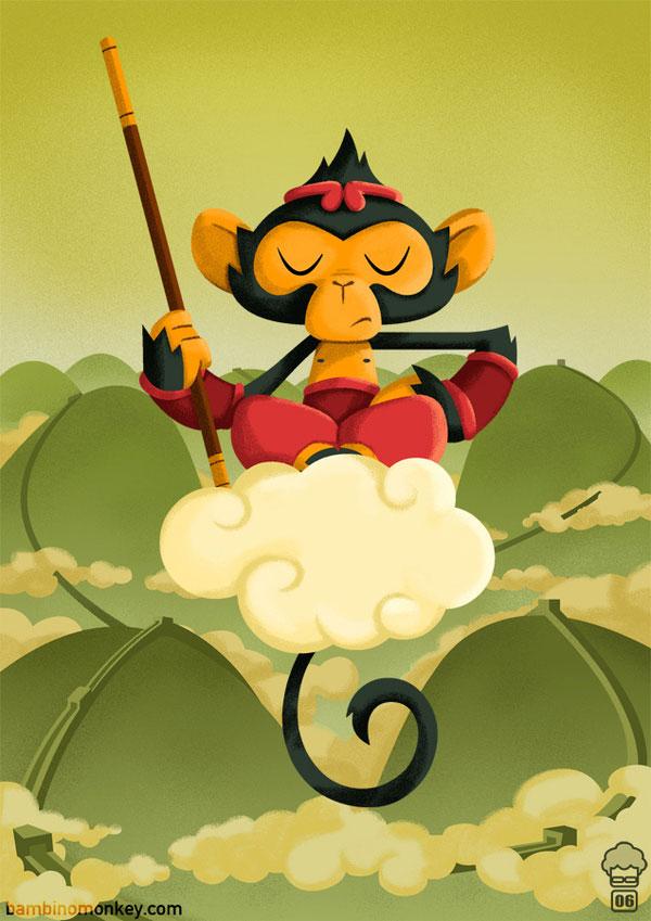BambinoMonkey Portfolio 3 Character Design Inspiration