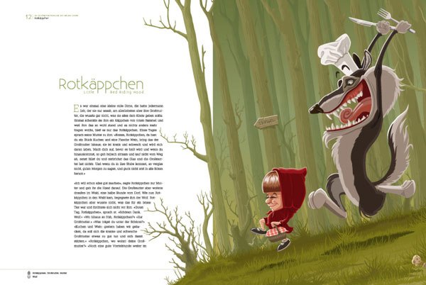 Brothers Grimm Fairy Tales 1 Character Design Inspiration