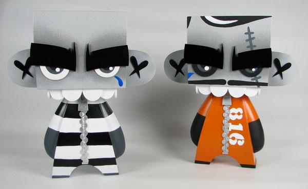 MORK Prisoner 816 & 913 MADL's Character Design Inspiration