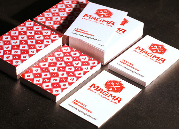 Magma Press Letterpress Pattern Cards Print Design Inspiration