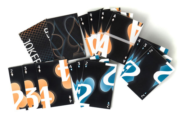 Playing Cards Print Design Inspiration