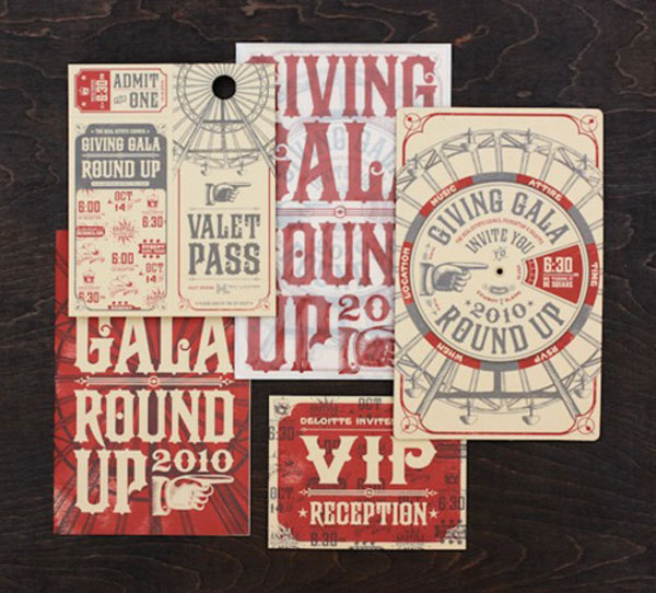 Awesome invites Print Design Inspiration