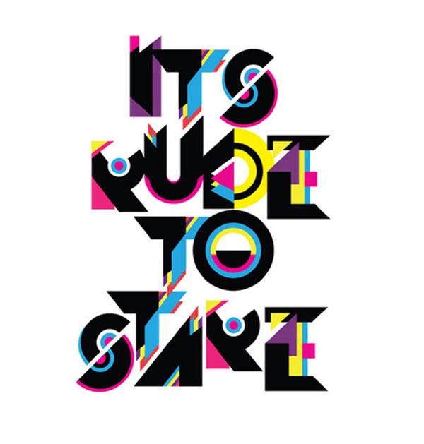 Funky Typeface Design Inspiration in Romania