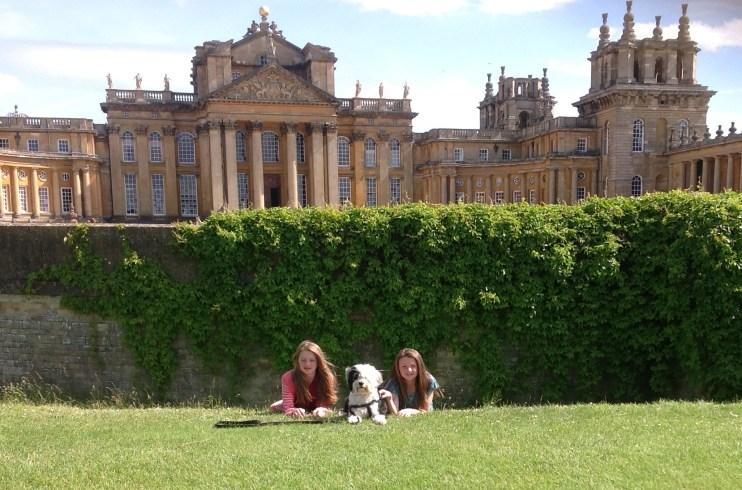 Georgia, Jasper and Jaz at Bleinheim Palace