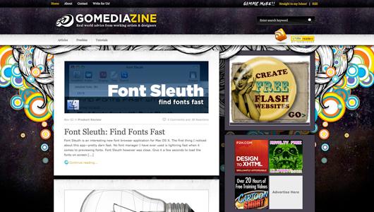 gomediazine screenshot