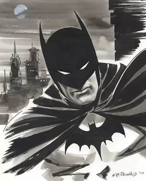 Batman 2010 by BillReinhold