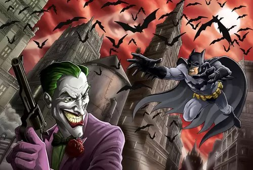 Batman and Joker by Ferigato