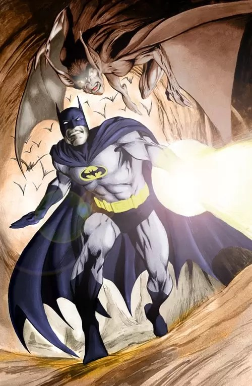 Batman by vincent666