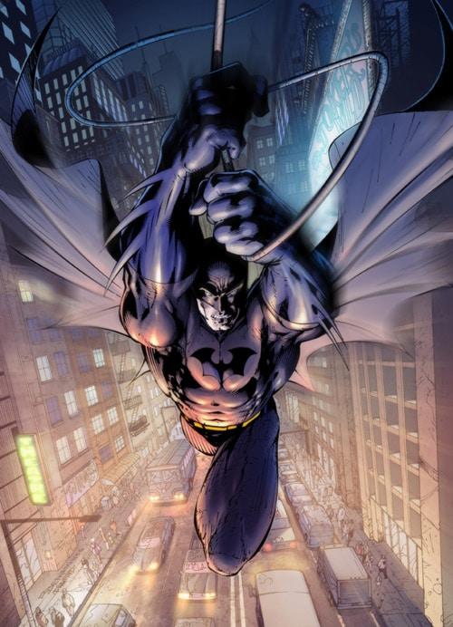Batman to the rescue by ryanbnjmn