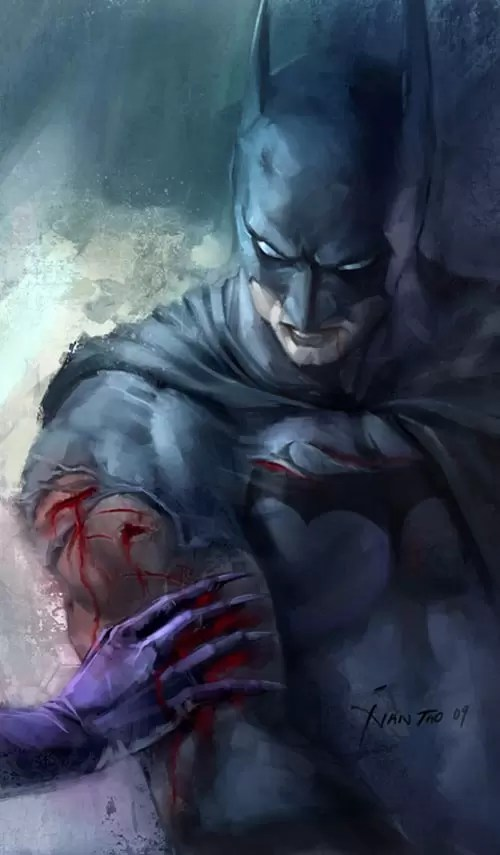 Batman by ivangod