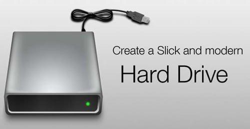 Create a Slick External Hard Disk in Photoshop | Richworks