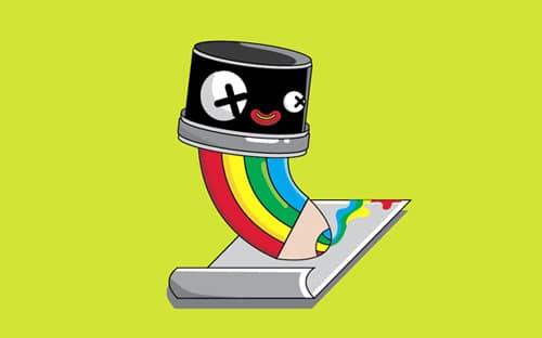 Design a Vector Pencil Cartoon Character