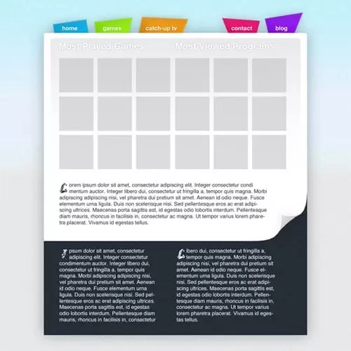 Create a Kids Oriented Web Layout Using Photoshop
