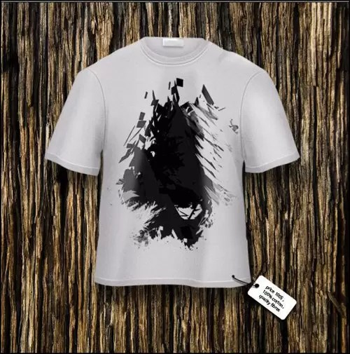 Draw a T-Shirt in Photoshop