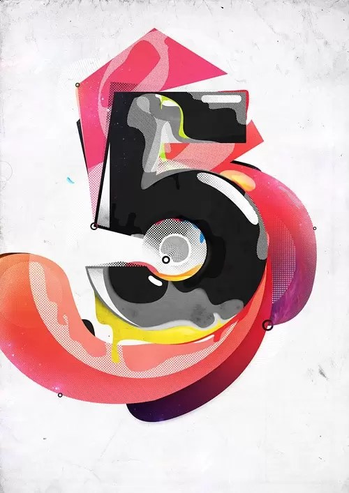 Create an Awesome Number-Based Illustration