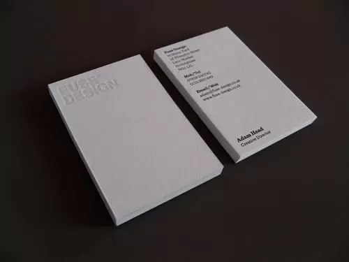 New Fuse Design Business Cards