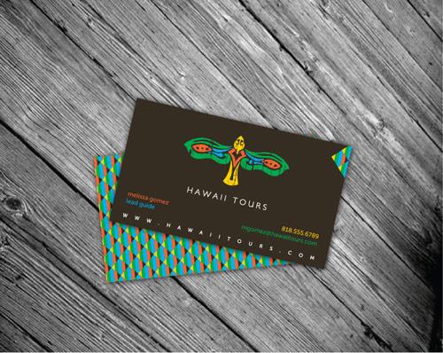 Hawaii Tours Business Card