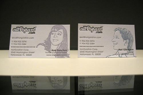 All Pop Art | Unique Letterpress Cards