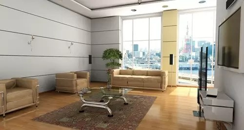 Modern Interior Designs  Beautifully Rendered CG Works Of Art     Dan Barbalata   3ds max  Photoshop  VRay