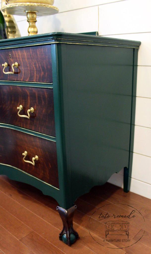 Custom Green Dresser General Finishes Design Center