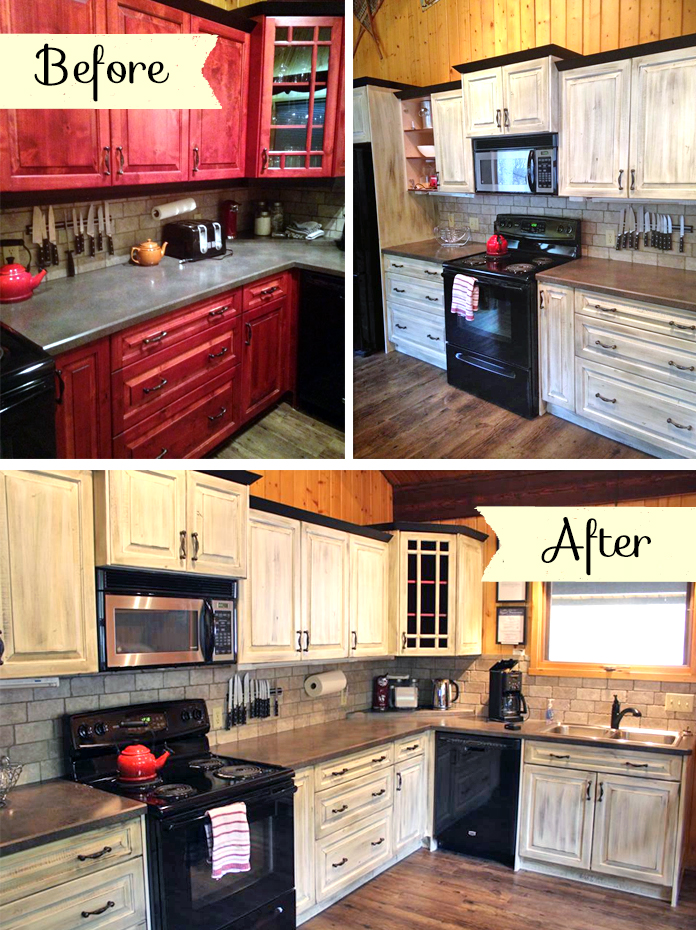 Kitchen With Country Charm General Finishes Design Center