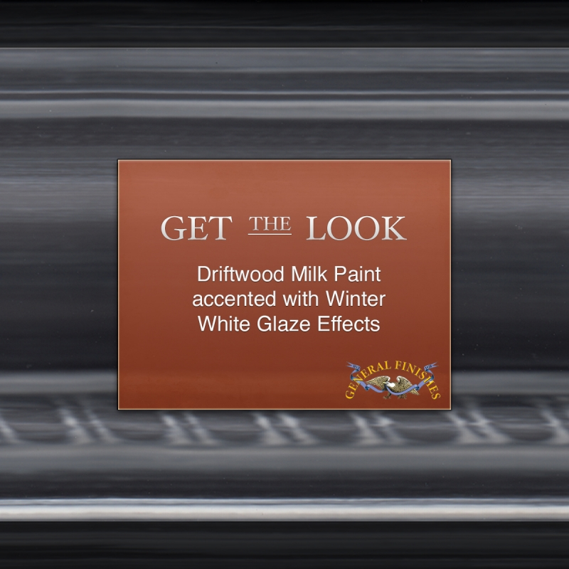 Get The Look Driftwood Gray Milk Paint With Winter White