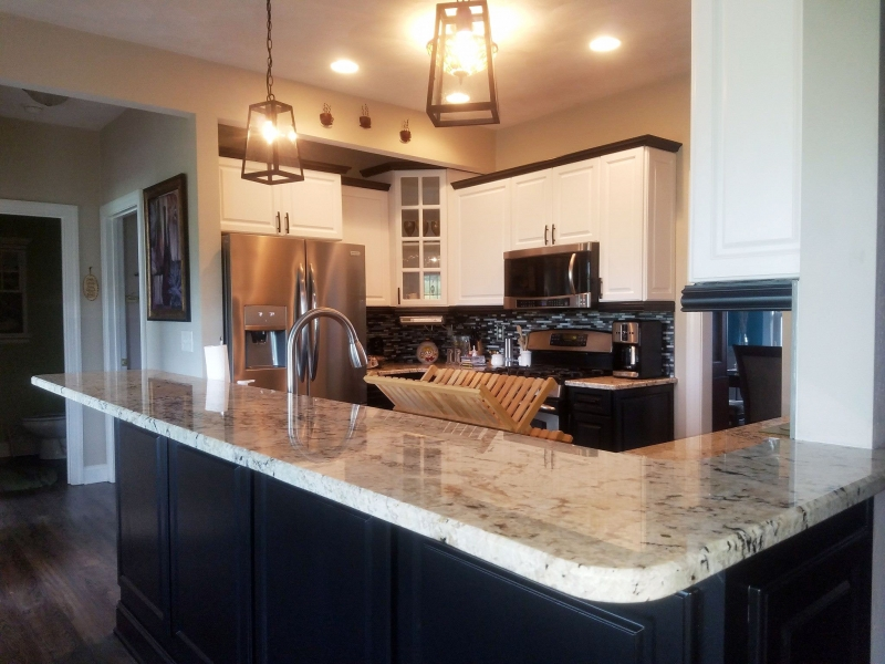 Tuxedo Kitchen Cabinet Makoever General Finishes Design