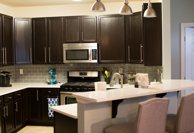 Java Gel Stain Kitchen Transformation General Finishes