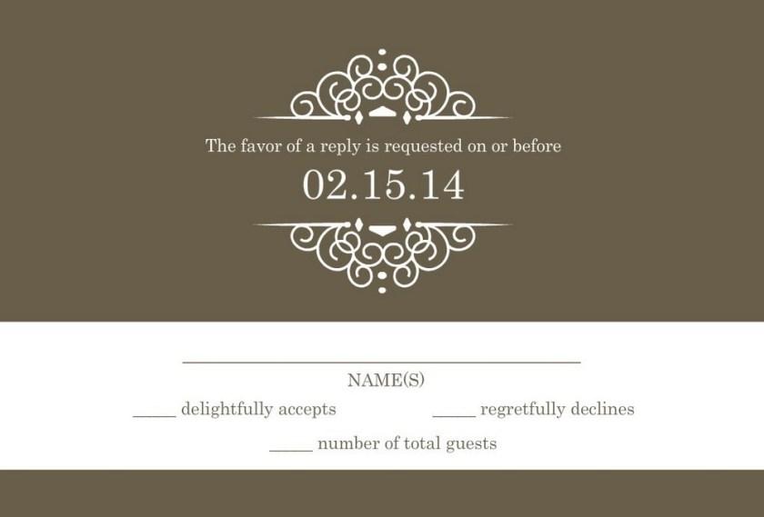 Wedding Invitation Tips 55 Rsvp Wording Ideas