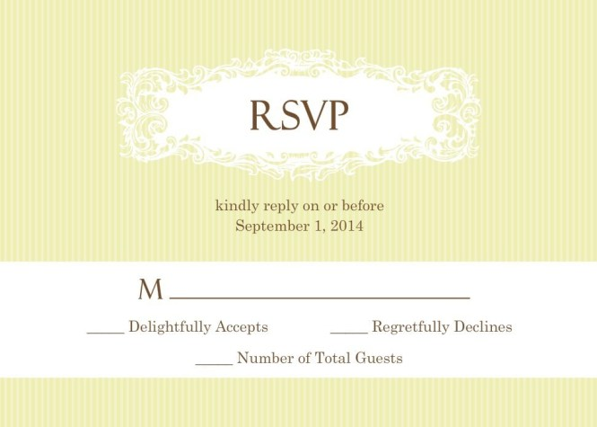 Rsvp Wedding Invitation Wording Vertabox Com Text To Create
