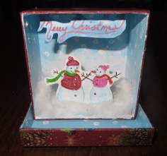 Inside of the Box I made for my Mom. Merry Christmas.