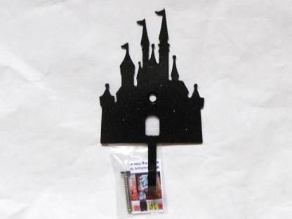 metal princess castle wall hooks, princess castle wall art