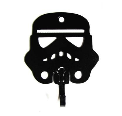metal storm trooper wall hooks, star wars wall art