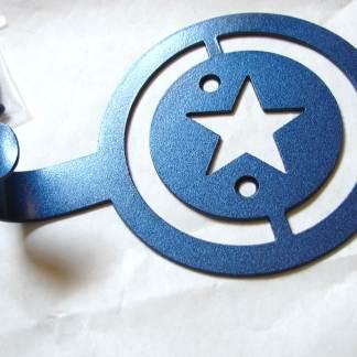 metal captain america wall hooks, captain america wall art