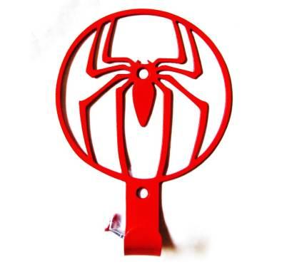 metal spiderman wall hook, towel hook, coat hook