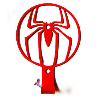 metal spiderman wall hook, towel hook, coat hook