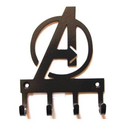 metal avengers wall hooks, avengers sign