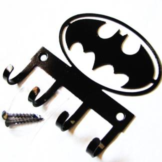 metal batman wall hooks, batman sign