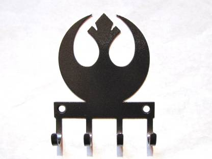 Star Wars Rebel Alliance wall hooks, star wars sign