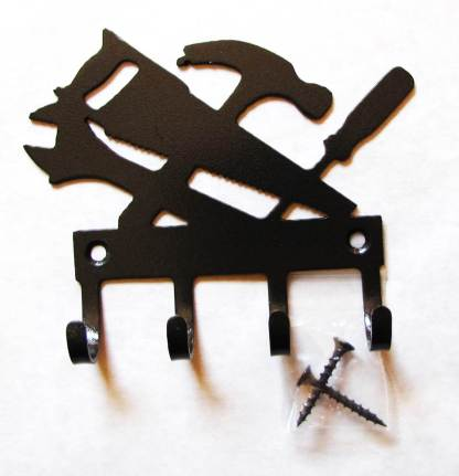 metal carpenter tools wall hooks