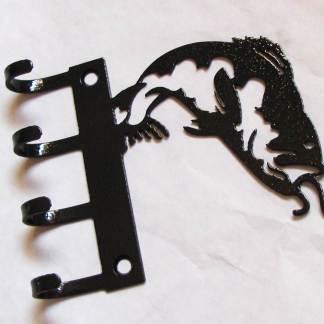 metal fishing wall hooks, fish key hooks