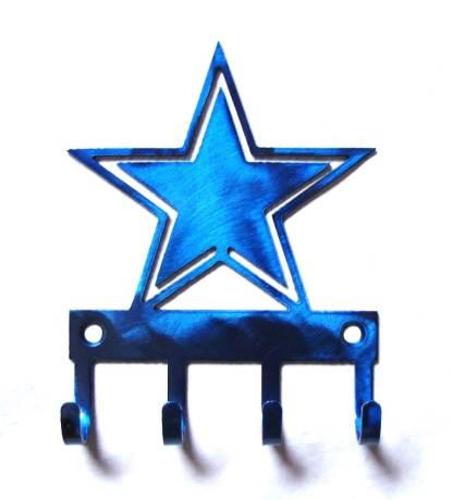 metal texas star wall hooks, tx star wall art